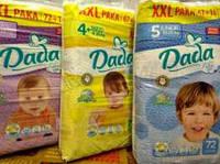 Памперсы Dada 4+ Extra Soft XXL Pack (15-25 кг.) - 72 шт.