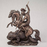 """Бронзовые статуэтки """"Георгий победоносец"""" 32 см оригинальные подарки"""
