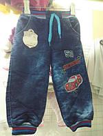 Джинсы утепленные для мальчика 92-110