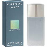 Azzaro Chrome SPORT edt 30ml туалетная вода мужская (оригинал подлинник  )