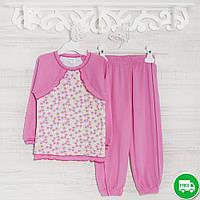Детские пижамы для девочек1-3-5лет, 1113GERDA трикотаж-хлопок-рибана, в наличии 92,104,116 Рост
