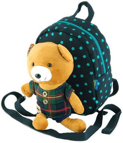 Детский рюкзак Teddy из хлопка  2 л Bobear 7005-16, синий