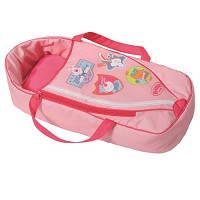 Люлька-переноска для куклы BABY BORN 2 в 1 СЛАДКИЕ СНЫ с подушкой Zapf 822203