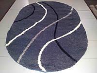 Ворсистый ковёр  Shaggy Gold 9861 серый