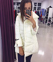Пальто легкое на осень, не холодную зиму, цвет молочный