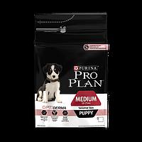 Pro Plan puppy sensitive сухой корм лосось с рисом для щенков с чувствительной кожей и пищеварением - 12 кг