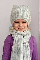 Теплая зимняя шапка Кошка (размеры и цвета в наличии)