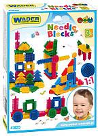 """Конструктор """"Ежик"""" 64 элемента в коробке Wader, 41820, Вадер для детей"""