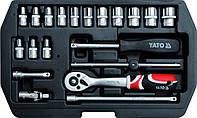 Набор головок и комплектующих YATO