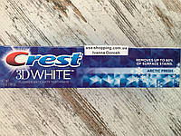 Отбеливание зубов и свежесть Crest 3D White Arctic Fresh Icy Cool Mint,198 грамм