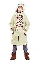 Зимняя куртка модного фасона