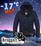 Мужская зимняя стёганая куртка