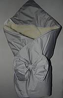 """Конверт-одеяло """"Бант"""" на меху, Украина цвета в ассортименте"""