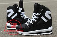 Подростковые зимние кроссовки-ботинки