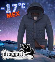Куртка стеганая зимняя качественная Braggart