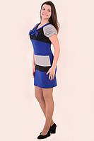 Платье женское трехцветное