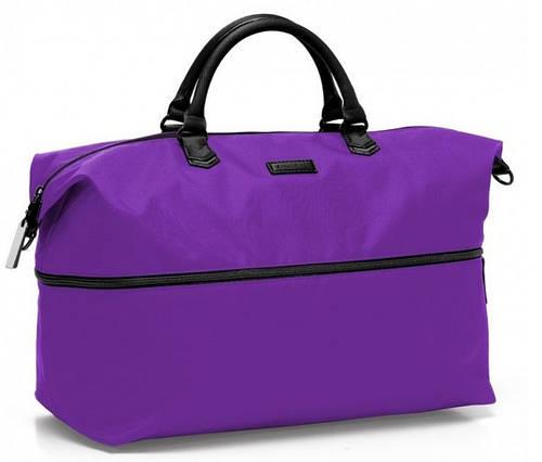 Фиолетовая дорожная сумка из нейлона 51/54 л. Roncato Diva 3755/29