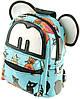 Оригинальный детский рюкзак из хлопка 2 л Traum 7006-06, голубой