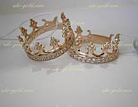 Золотое кольцо корона.