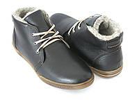 Мужские зимние ботинки кожа Украина