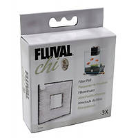 Сменная мелкопористая губка Fluval для аквариума Fluval Chi 19л и 25л, 3шт.