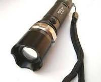 Тактический фонарик Police BL-Т8626 5000W с линзой Bailong,