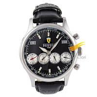 Мужские механические часы Ferrari Maranello Black (Феррари)