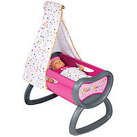 Кроватка для кукол с балдахином Smoby 220311 Baby Nurse