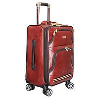 Стильный чемодан среднего размера