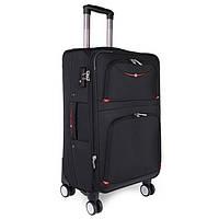 Строгий чемодан среднего размера