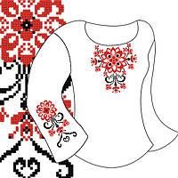 Заготовка для вишивки дитячої сорочки Д-62 габардин