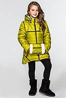 Куртка-парка для девочек КД-001 Салатовый