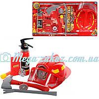 Игровой набор пожарника (набор пожарного): 8 предметов