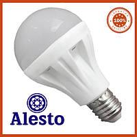 Светодиодная лампа Е27 9Вт Alesto LUX 3000К, 6000К