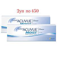 Однодневные Контактные линзы 1 day Acuvue Moist  Купи 2уп+ Подарок!