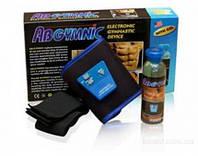 Пояс для похудения AbGymnic, накачки пресса миостимулятор