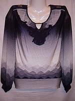 Блузка женская, нарядная, шифоновая.