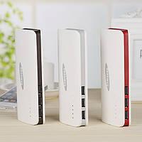 Портативное зарядное устройство на 3 USB, Power Bank Samsung 30 000 mAh
