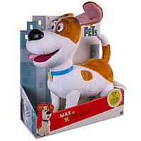 Мягкая игрушка говорящий Макс из мультфильма Тайная жизнь домашних животных 30см