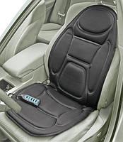 Массажная накидка с подогревом 288 для сидения в автомобиле CUSHION. Чехол с массажером для кресла