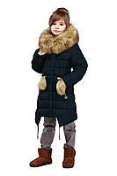 Детская куртка с натуральным мехом от производителя