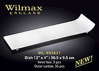 Блюдо фарфор 30,5x9,5см Wilmax WL-992621