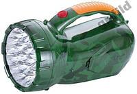 Диодный фонарь с аккумулятором 34led Yajia 2807, светильник, Фонарик Фара