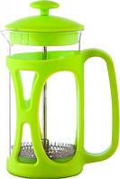 Чайник френч-пресс заварник Con Brio СВ-5335 зеленый, 350 мл