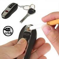 Электроимпульсная USB зажигалка в виде ключа  PORSHE