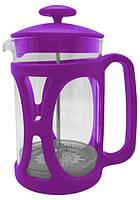 Чайник френч-пресс (заварник) Con Brio СВ-5360 фиолетовый, 600 мл
