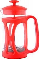 Чайник френч-пресс (заварник) Con Brio СВ-5335 красный, 350 мл