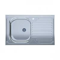 Кухонная мойка 50*80-L Polish полированная 0,4мм