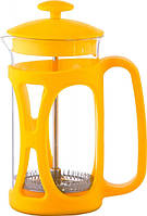 Чайник френч-пресс (заварник) Con Brio СВ-5335 желтый, 350 мл