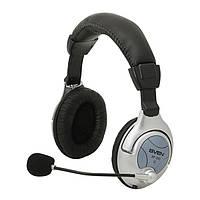 Гарнитура SVEN АР-880 с микрофоном, вибробас, регулятор громкости стереонаушники с микрофоном и рег. громкости
